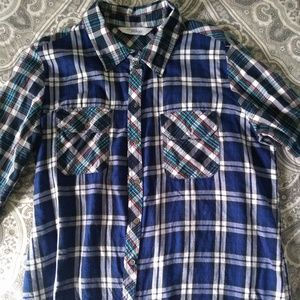 Great Northwest indigo plaid shirt